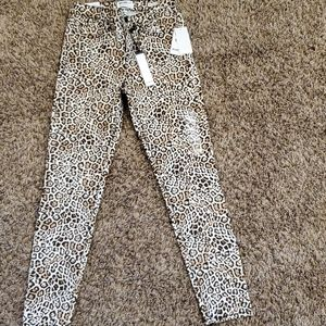 William Rast leopard print pants